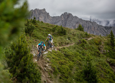 Mountainbike Berge